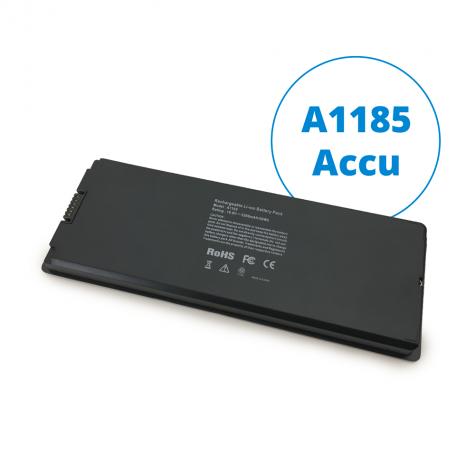 """13"""" MacBook accu A1185 zwart"""