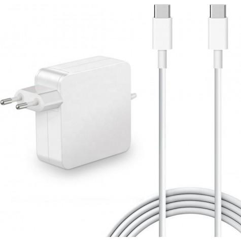 "Oplader MacBook Pro 13"" (type USB-C 61w)"